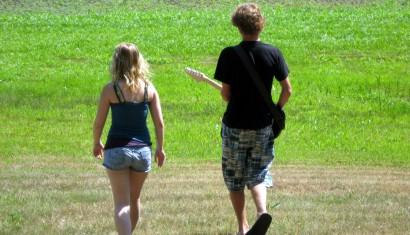 Alli & Zach on a run